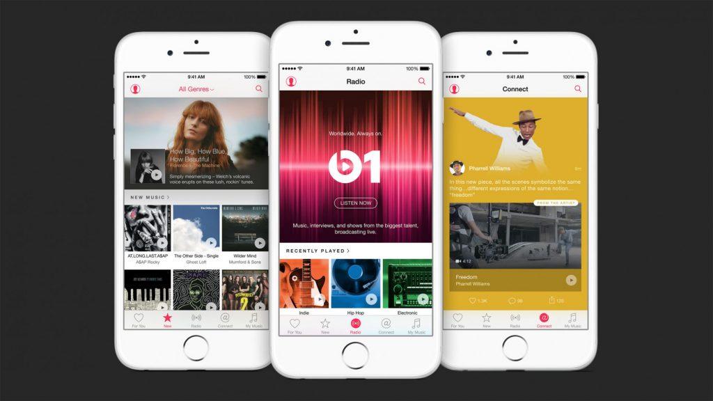 Apple Music Interface